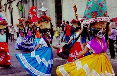 cultural dancing in oaxaca city