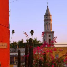 Building in El Fuerte, Mexico