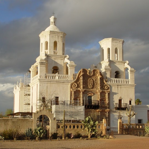 San Xavier Cathedral in Mexico