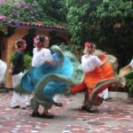 cultural dancing in the streets