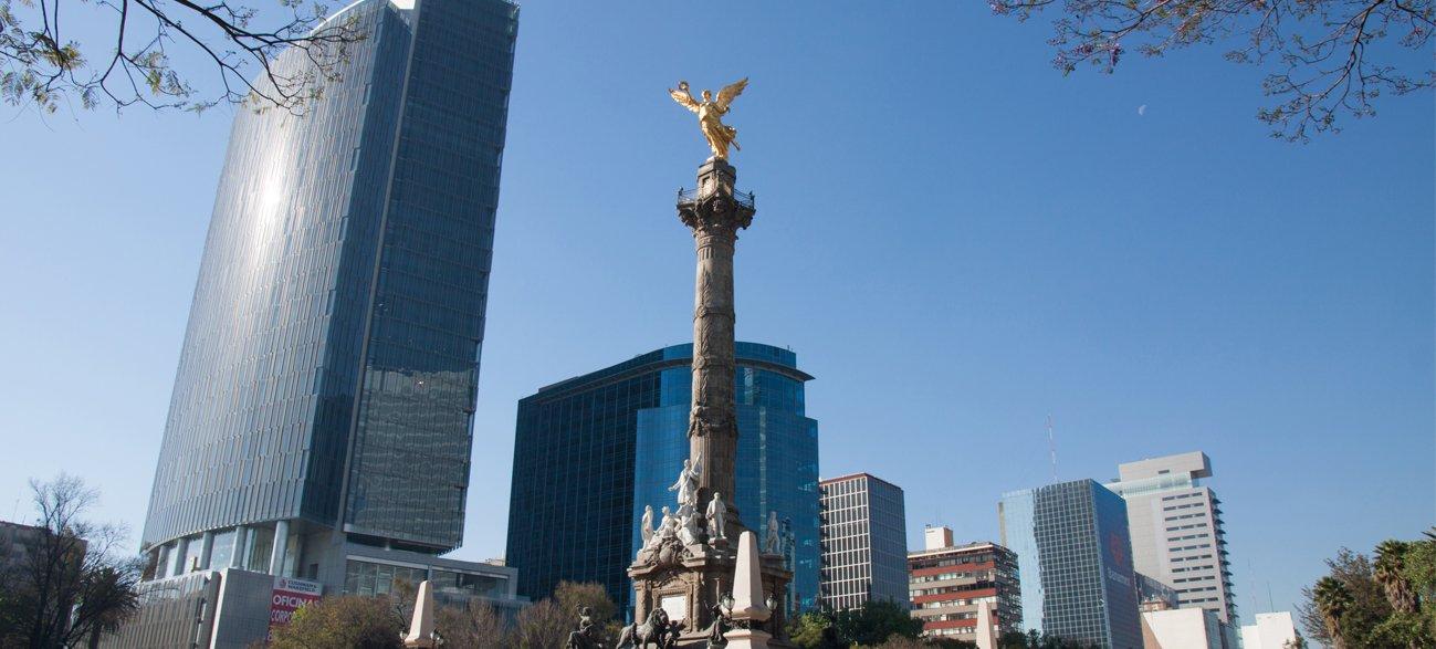 Angel Statue, Paseo De La Reforma, Mexico City, Mexico
