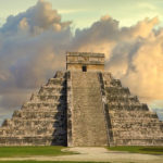 This popular pyramid is located within the Mayan-Toltec ruins of Chichén Itzá
