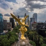 Statue of The Angel of Independence in Mexico City