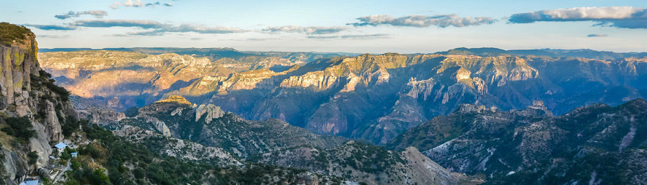 See the magnificent Copper Canyon in northern Mexico