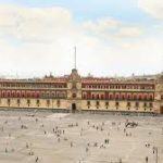 Picture of the National Palace in Mexico City