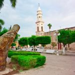 picture of the main square in El Fuerte